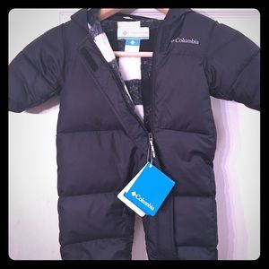 Columbia baby snowsuit
